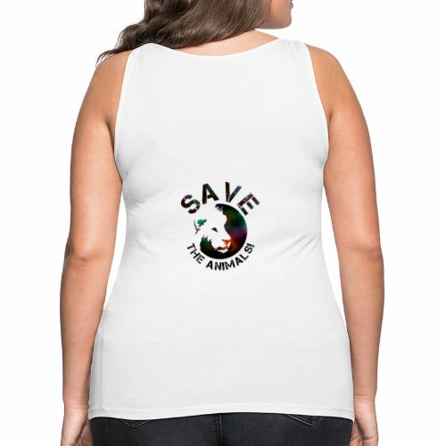 SAVE THE ANIMALS! KOLLEKTION BY Mikka_ufficiale - Frauen Premium Tank Top