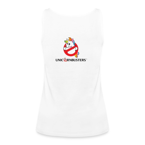 Unicorn Busters (Logo + Text) - Frauen Premium Tank Top