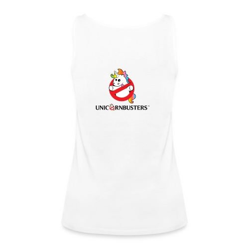 Unicorn Busters (Logo + Text) - Frauen Premium Tank Top
