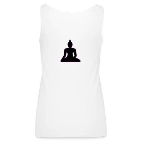 Buddha violleter Schein - Frauen Premium Tank Top