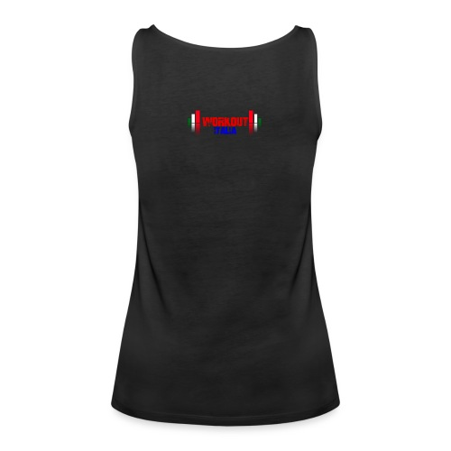 workout fondo chiaro - Canotta premium da donna