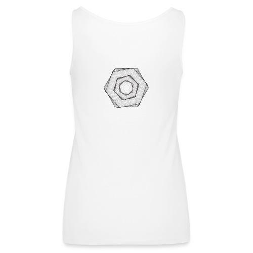 Hexogram Art - Vrouwen Premium tank top