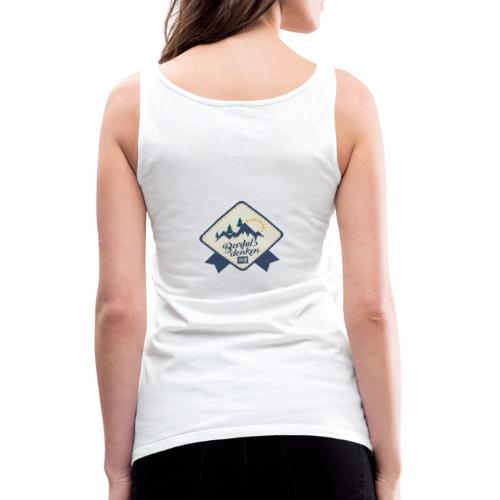 Barfuss denken - Frauen Premium Tank Top