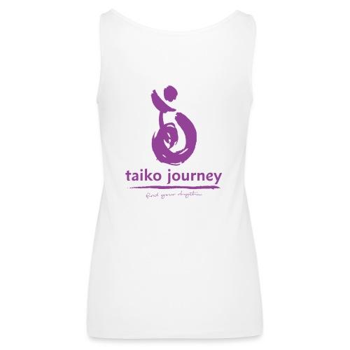 Taiko Journey PURPLE RHYTHM - Women's Premium Tank Top