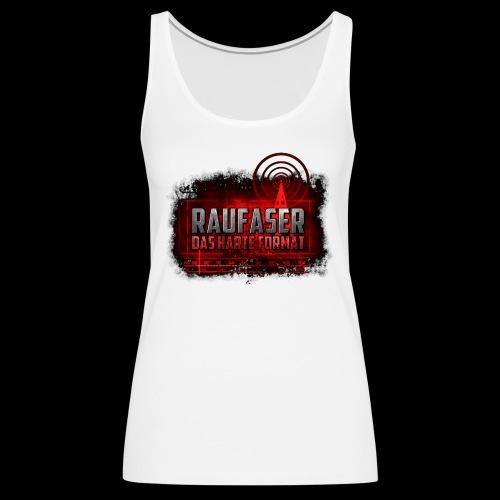Raufaser Logo - Frauen Premium Tank Top