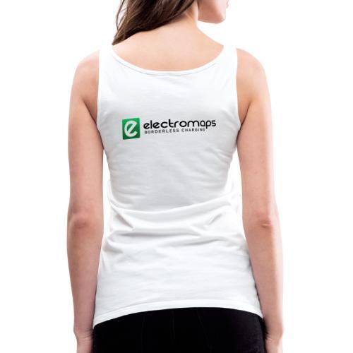 Electromaps color - Camiseta de tirantes premium mujer