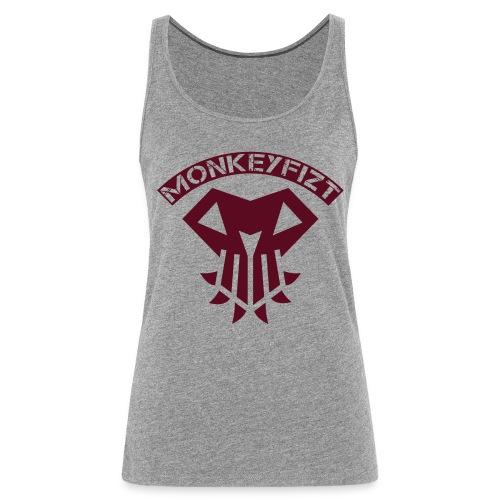 MonkeyFizt Logo - Frauen Premium Tank Top