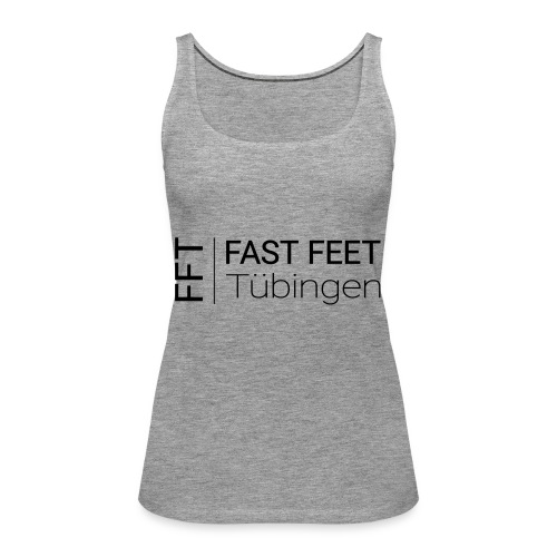 Fast Feet Tübingen - Text-Logo - Frauen Premium Tank Top