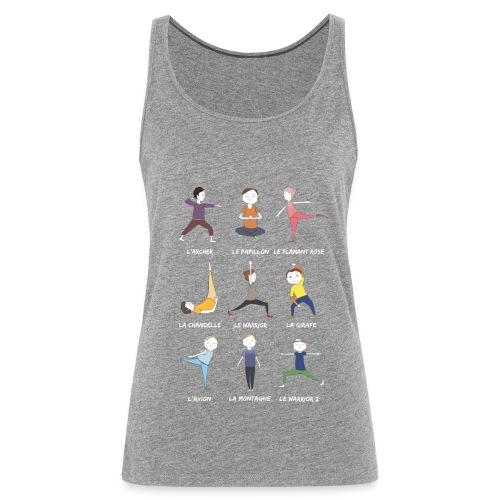 Les petits yogis - Débardeur Premium Femme