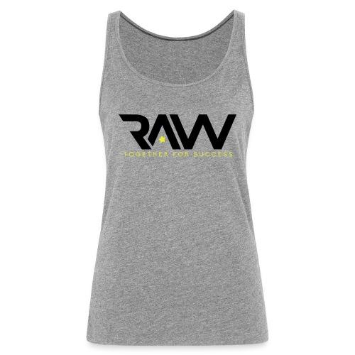 Raw - Débardeur officiel - Femme - Débardeur Premium Femme
