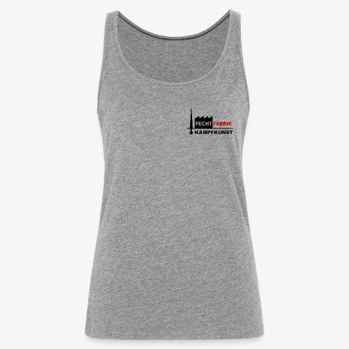 Fechtfabrik (Logo) - Frauen Premium Tank Top