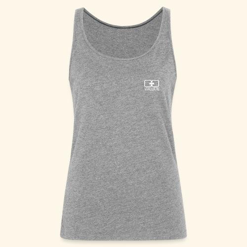 Cache-coeur grey - Débardeur Premium Femme