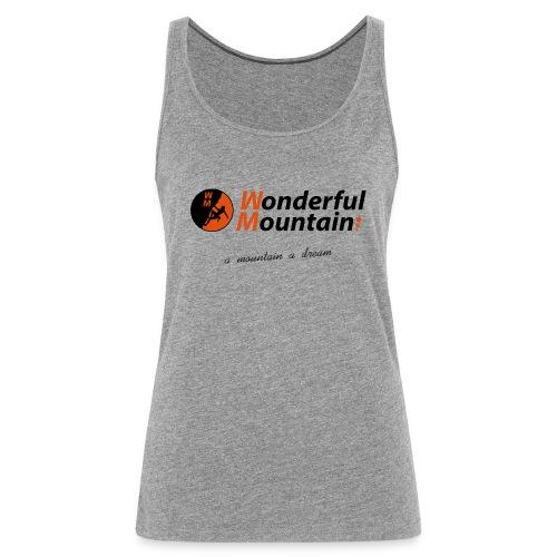 WM SLOGAN - Camiseta de tirantes premium mujer
