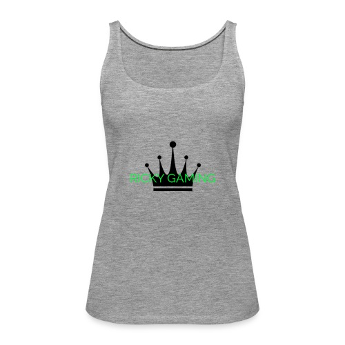 RICKY THE KING - Women's Premium Tank Top