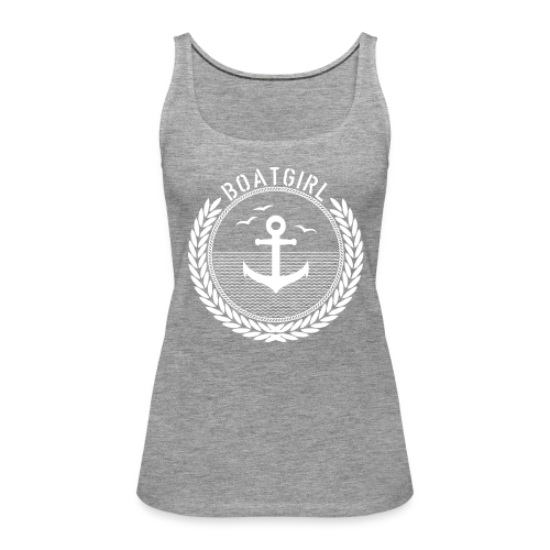 BoatGirl - Anchor - Frauen Premium Tank Top