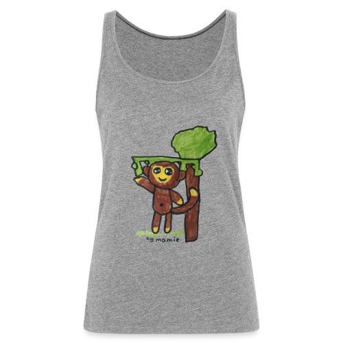 monkeywhite - Women's Premium Tank Top