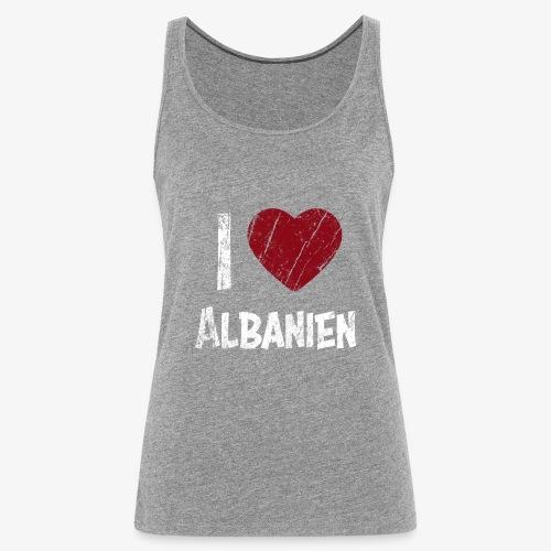 I Love Albanien - Frauen Premium Tank Top