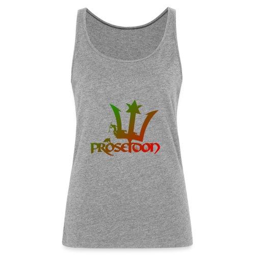 Proseidon Official Logo Rasta - Frauen Premium Tank Top