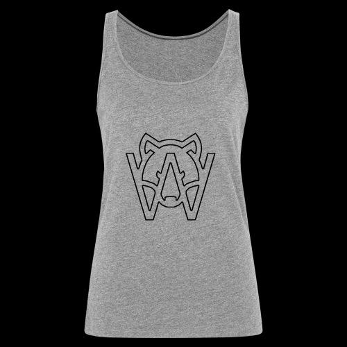 BLACK - Camiseta de tirantes premium mujer