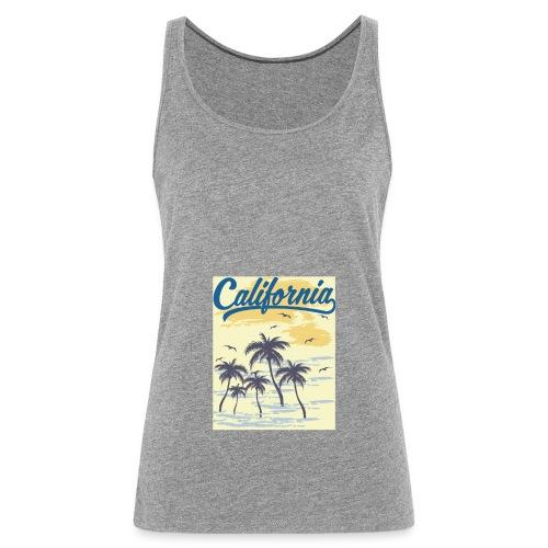 California Transparent - Débardeur Premium Femme