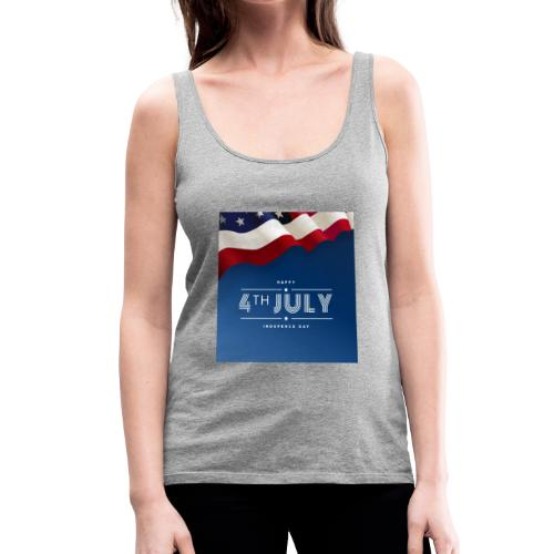 Day July 4th America T-Shirt - Frauen Premium Tank Top