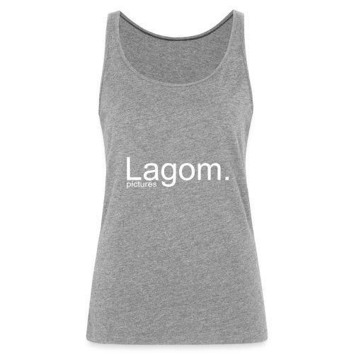 Lagom Pictures Logo Light - Women's Premium Tank Top