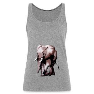 Big Elephant - Frauen Premium Tank Top