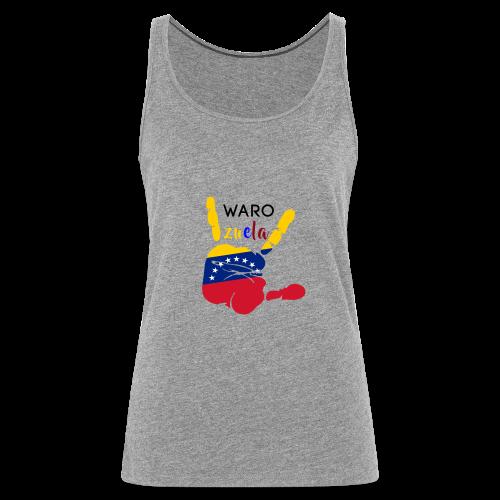 waro - Camiseta de tirantes premium mujer