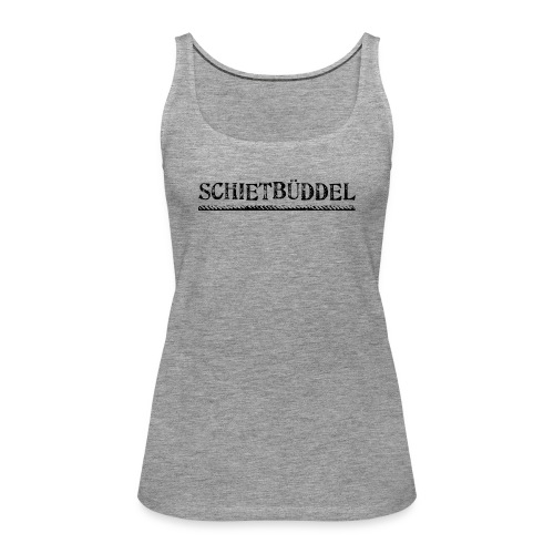 schietbueddel - Frauen Premium Tank Top