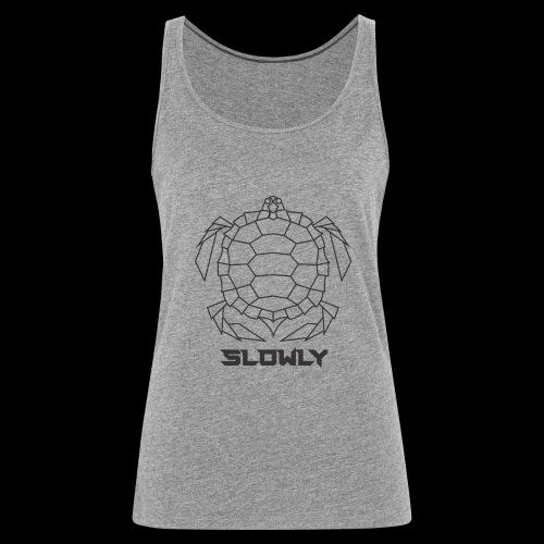 Mantente siempre extraño y original con Mr Slowly - Camiseta de tirantes premium mujer