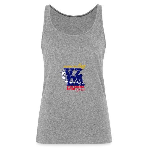 VZLA2 - Camiseta de tirantes premium mujer