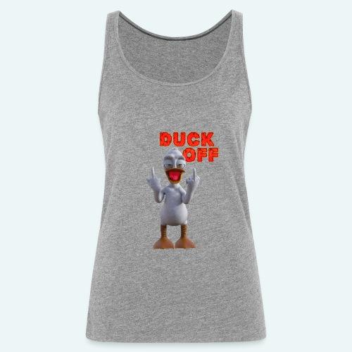 duck off - Vrouwen Premium tank top