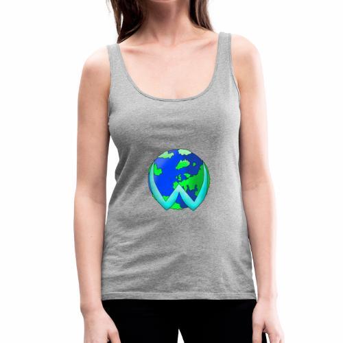 wister mundo - Camiseta de tirantes premium mujer
