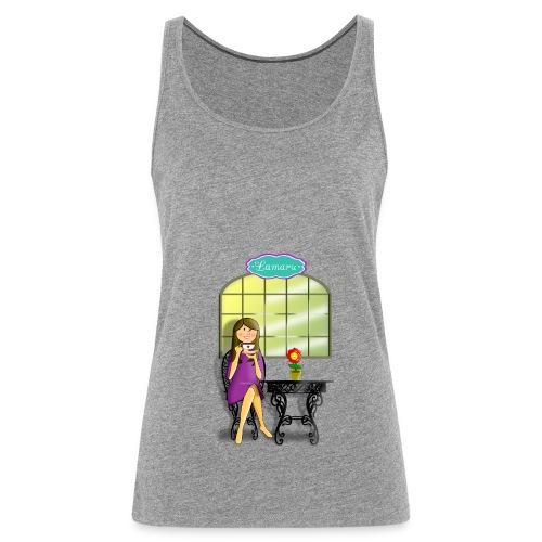 Tea time - Camiseta de tirantes premium mujer
