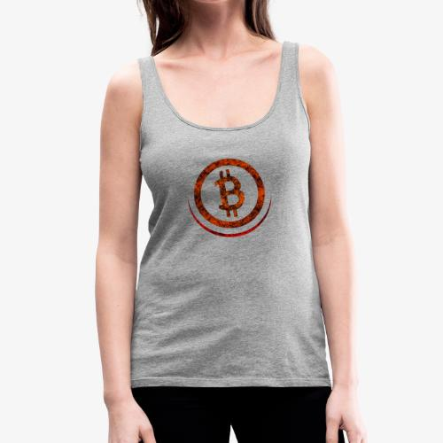 Bitcoin Shirt Orange & Red - Frauen Premium Tank Top