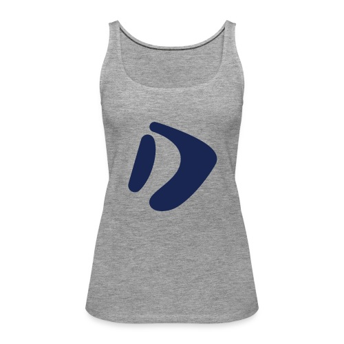 Logo D Blue DomesSport - Frauen Premium Tank Top