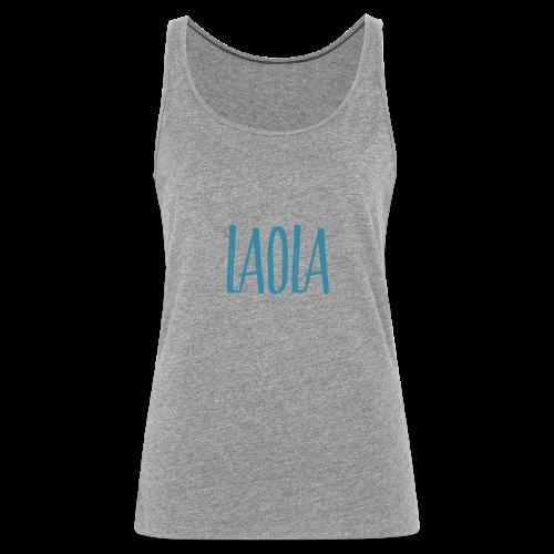 ola - Camiseta de tirantes premium mujer