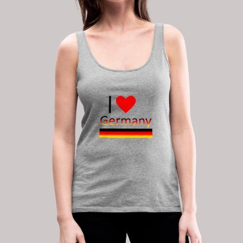 I love Germany - Ich liebe Deutschland - Frauen Premium Tank Top