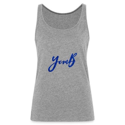 YomB Blue - Débardeur Premium Femme