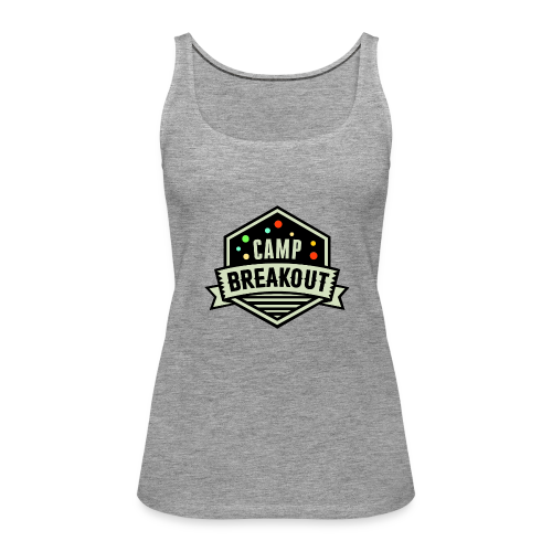Camp Breakout Logo 2018 - Frauen Premium Tank Top