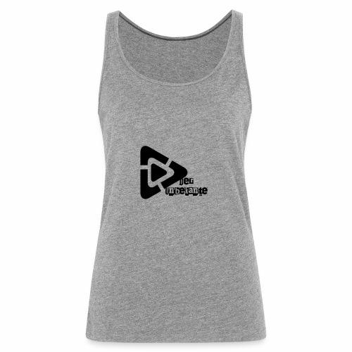 Der Unbekante schwarzes Logo - Frauen Premium Tank Top