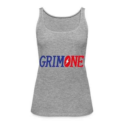 GRIMONE Logo - Frauen Premium Tank Top