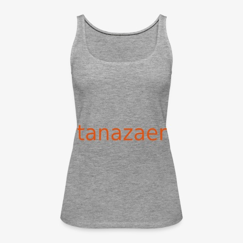 tanazaer - Dame Premium tanktop