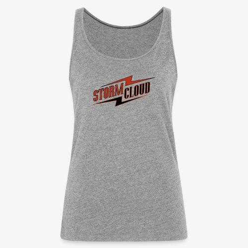 stormcloud logo print - Frauen Premium Tank Top