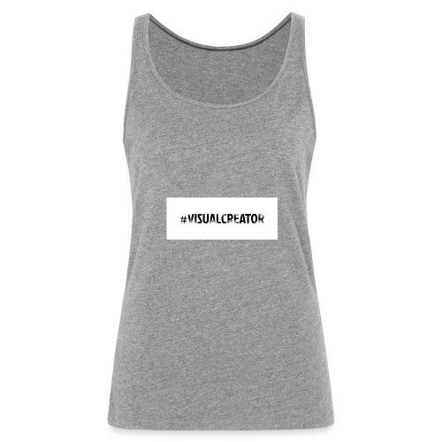 #Visualcreator - Frauen Premium Tank Top