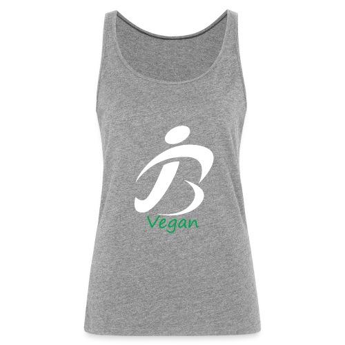 jon lebon app bvegan white - Women's Premium Tank Top
