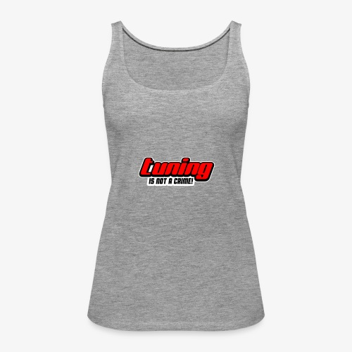 Tuning Sticker - Frauen Premium Tank Top