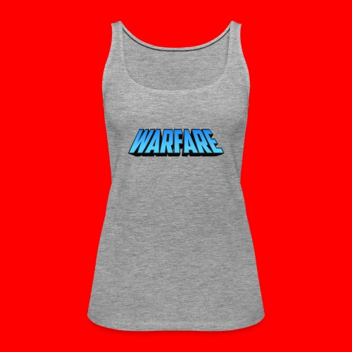 Warfare 2018 Logo Printed Merchandise - Women's Premium Tank Top
