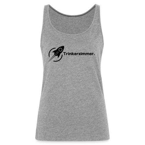 Trinkerzimmer black-Line - Frauen Premium Tank Top
