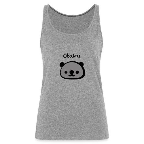 Otaku Panda Logo Illustration - Frauen Premium Tank Top